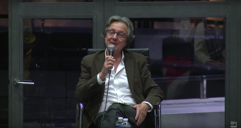 Jean-François Bayart, lors d'une rencontre organisée par l'Institut du monde arabe.