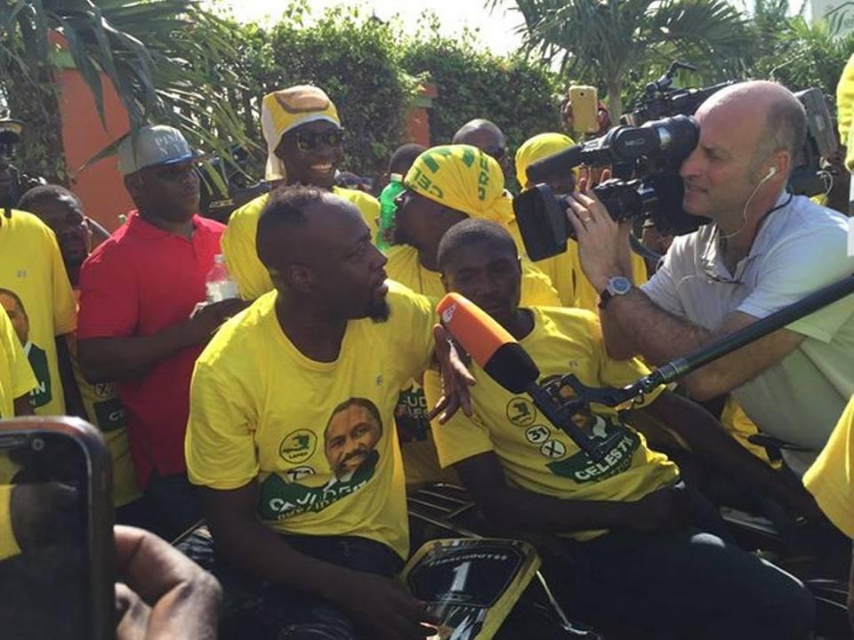 Entretien avec Wyclef Jean, ex-futur président d'Haïti