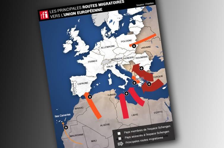 Les migrants vont-ils «déferler en Suisse» ?