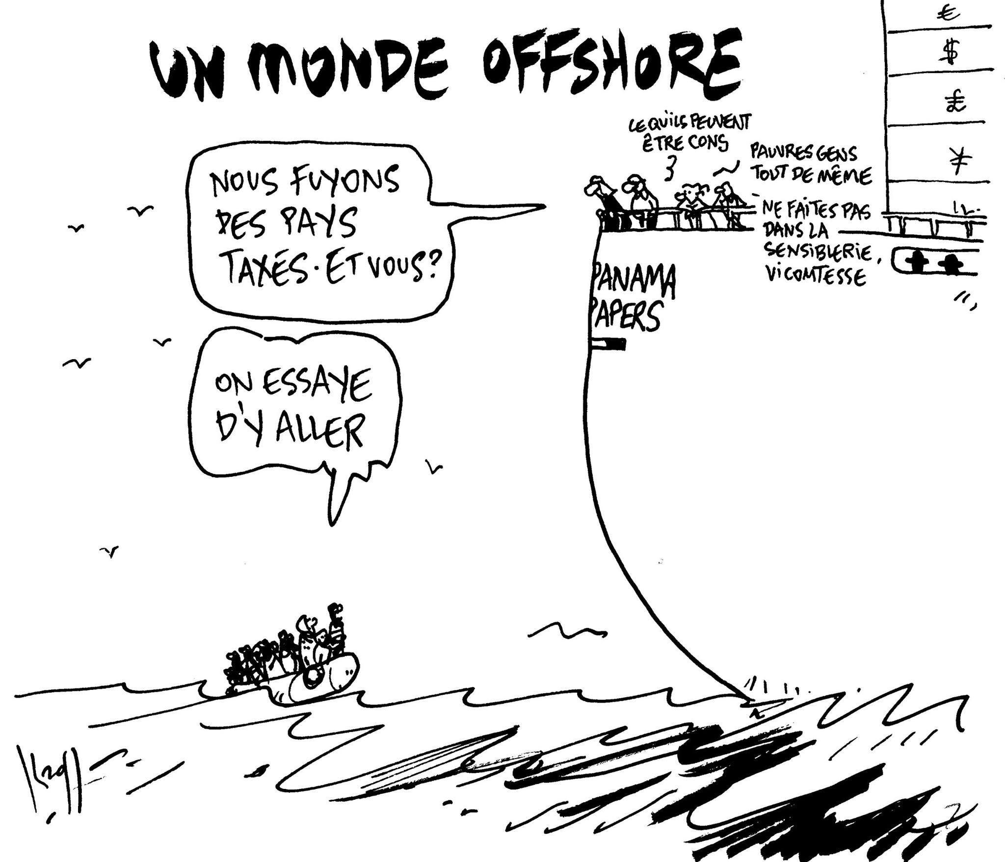 Un monde offshore