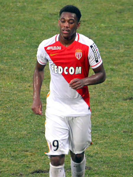 En août 2015, Anthony Martial (ici sous les couleurs de l'AS Monaco) avait été transféré à Manchester United pour la modique somme de 50 millions d'euros. [WikiCommons]
