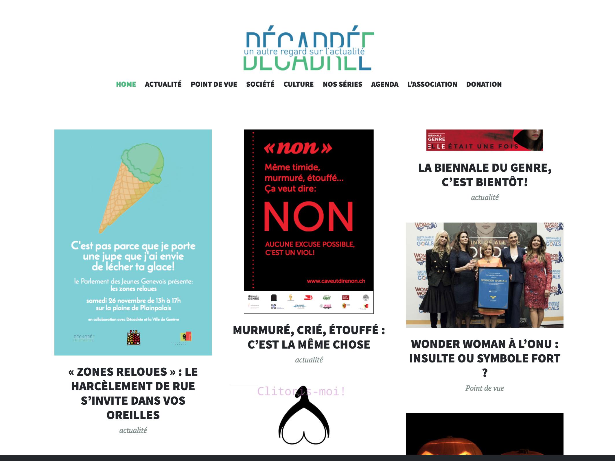 DécadréE – Une association pour promouvoir une presse plus égalitaire