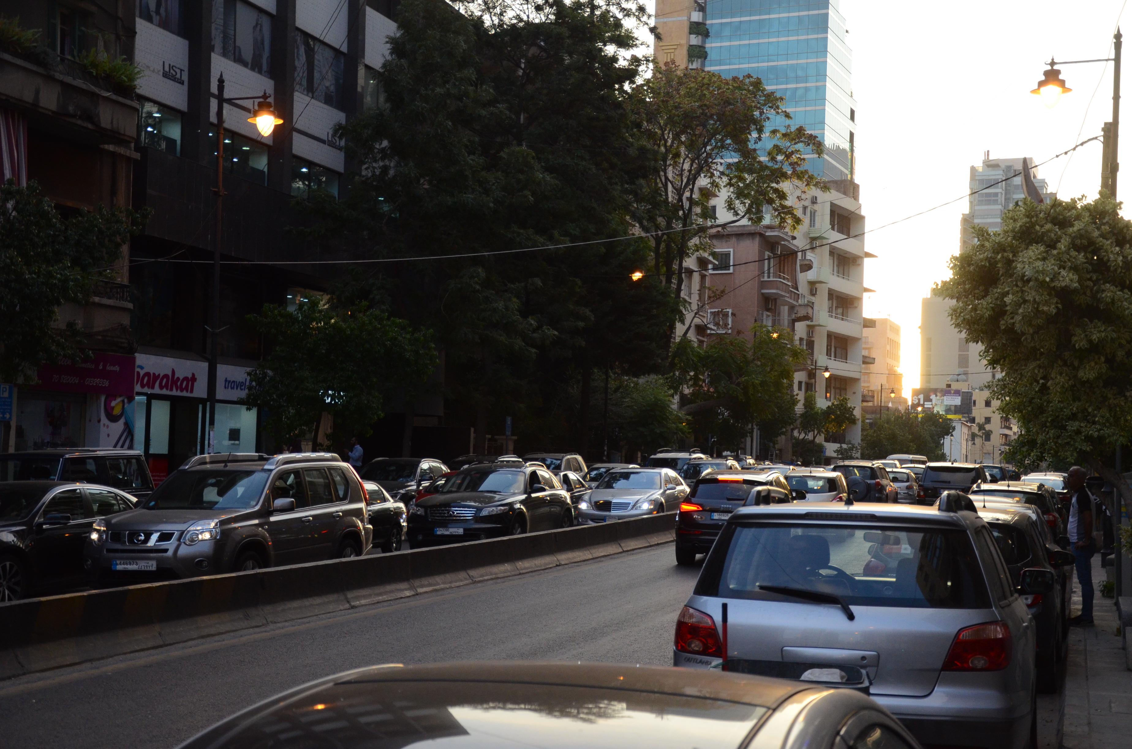 Depuis trois ans, chaque déplacement de B. dans les rues de Beyrouth se fait avec la peur d'être arrêté. [A.Python]