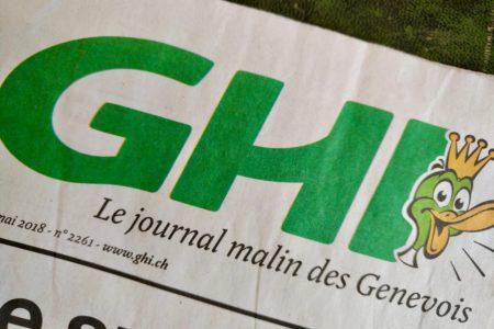 jet d'encre Blocher et le GHI: un naufrage journalistique