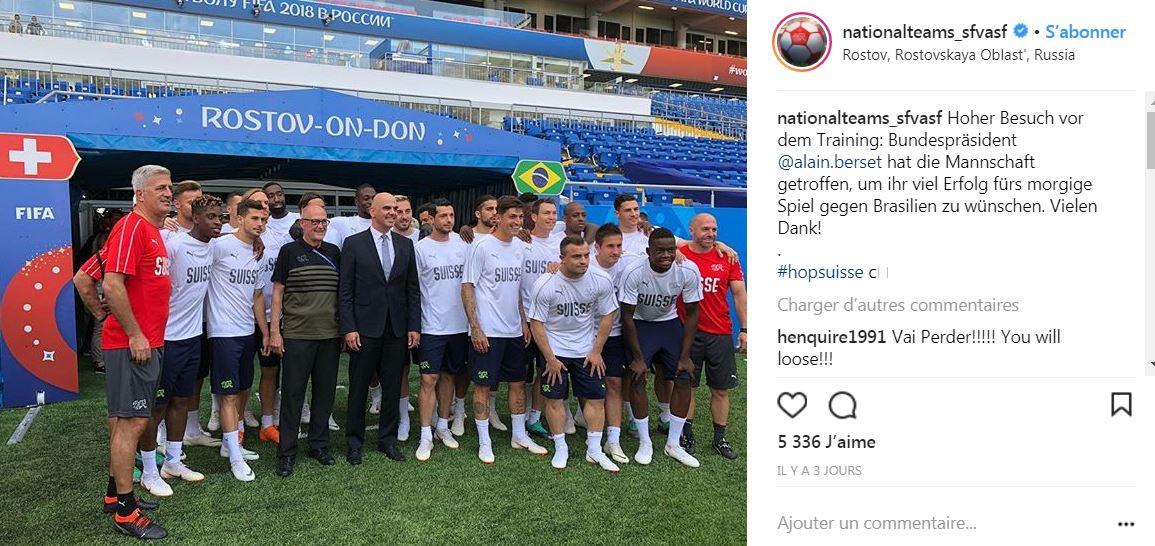 Comment la Suisse a fait déjouer Neymar et le Brésil