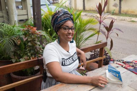 jet d'encre Avec Pamela Ohene-Nyako