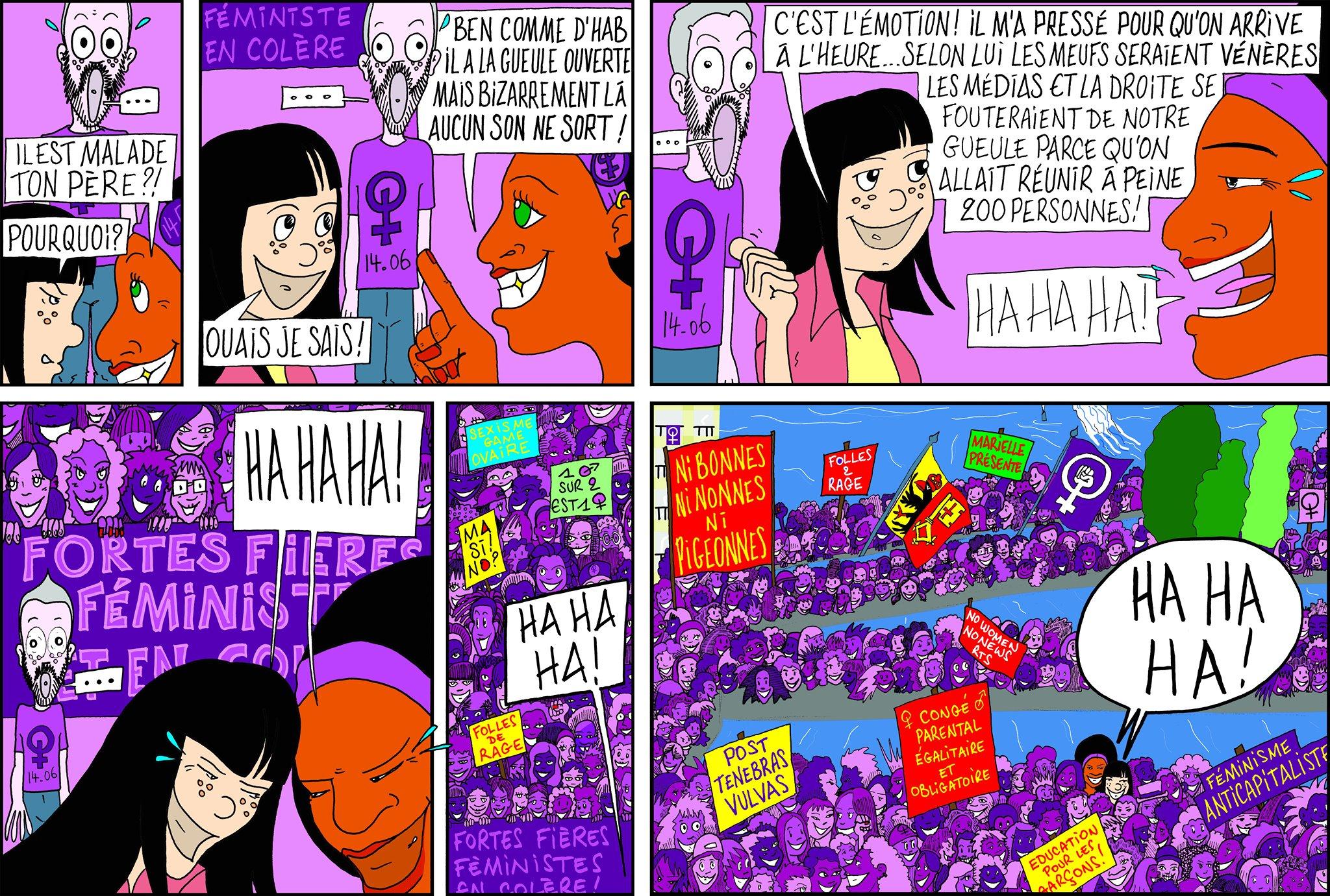 La grève des femmes