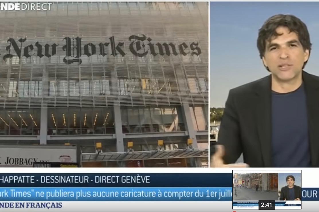 La fin du dessin politique au New York Times