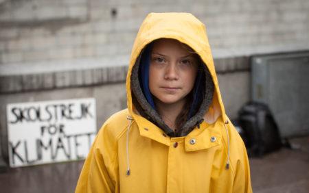 jet d'encre Il ne faut pas avoir peur de Greta Thunberg
