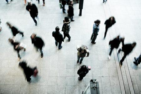 jet d'encre Les chômeurs dans la ville