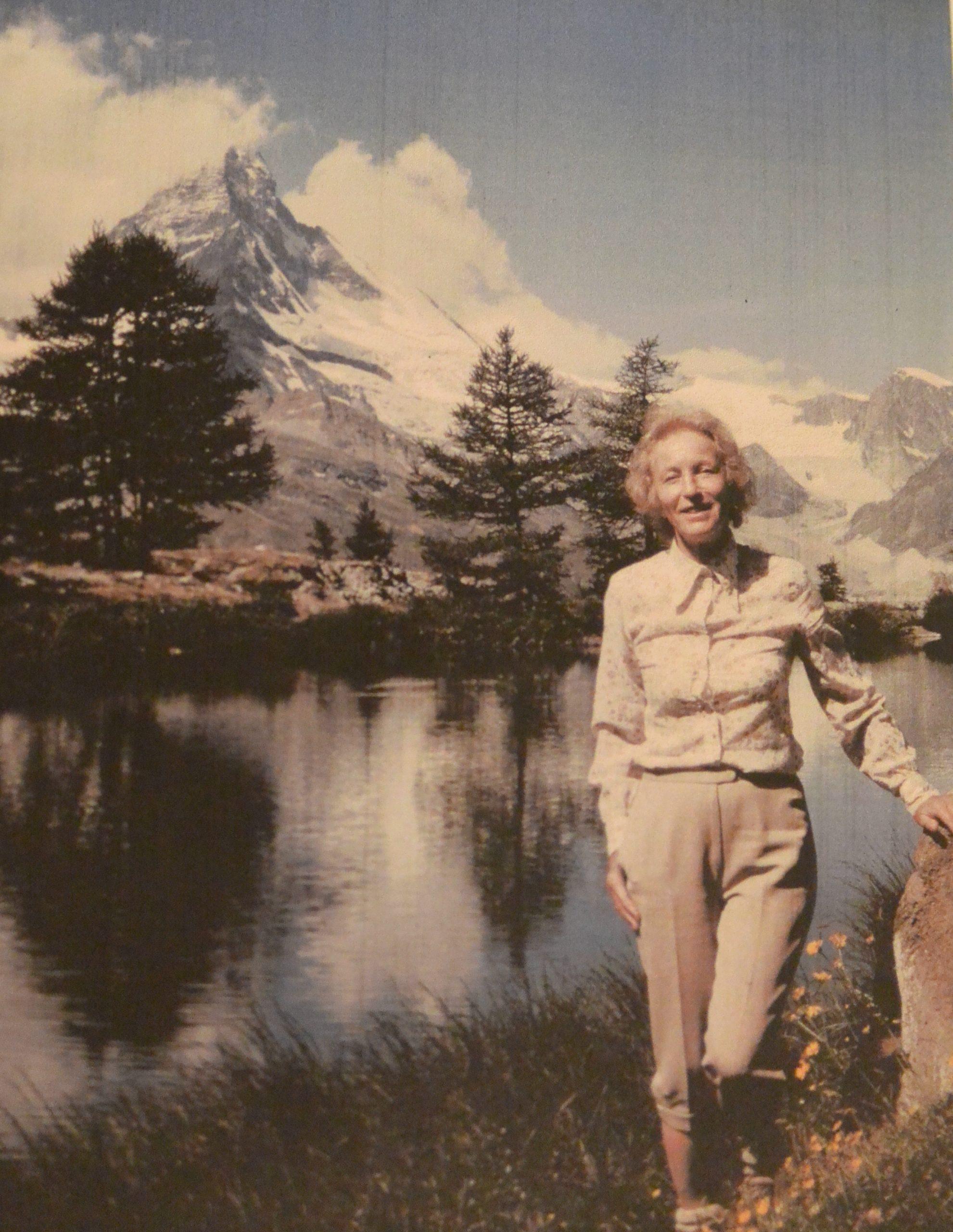 Annie Dutoit, une première de cordée